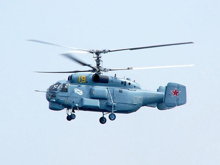 Ка-27 - противолодочный вертолет