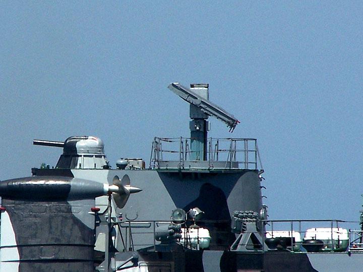 """Пуск ракеты 9М33 корабельного зенитного ракетного комплекса """"Оса-М"""""""
