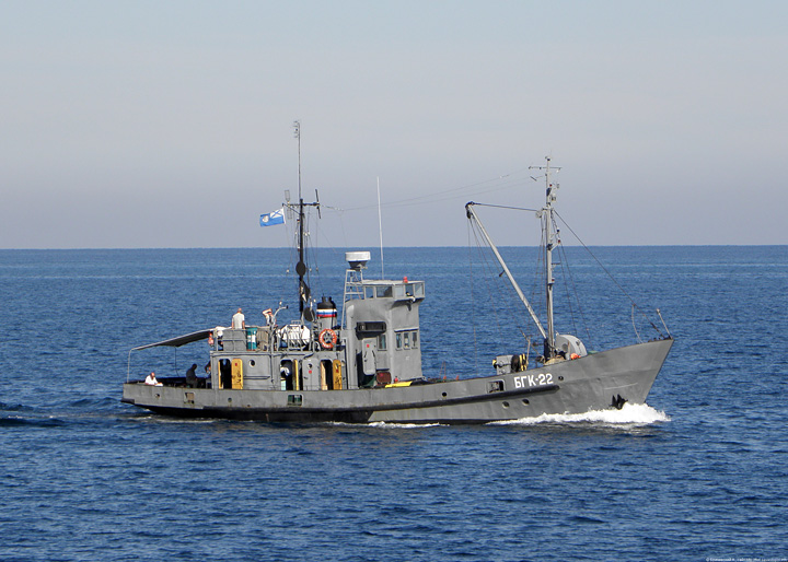"Large hydrographic survey boat ""BGK-22"""