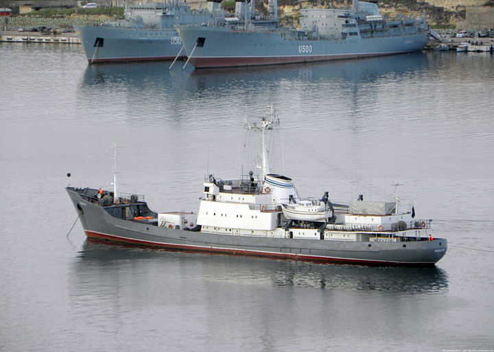 "Small intelligence ship ""Ekwator"""