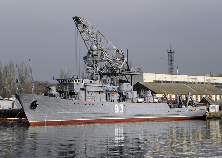 "Seagoing Minesweeper ""Kovrovets"""