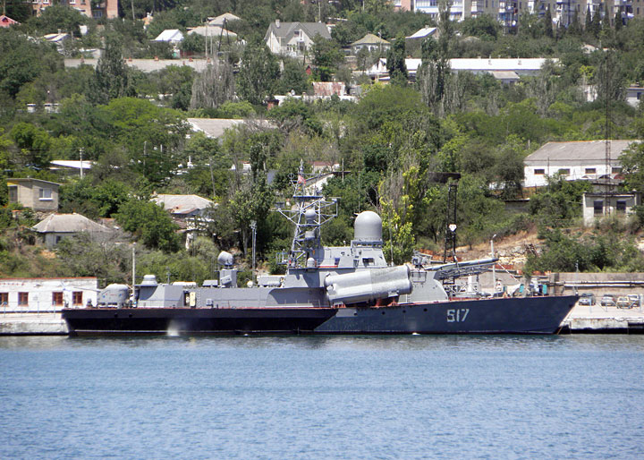 "Guided Missile Corvette ""Mirazh"""