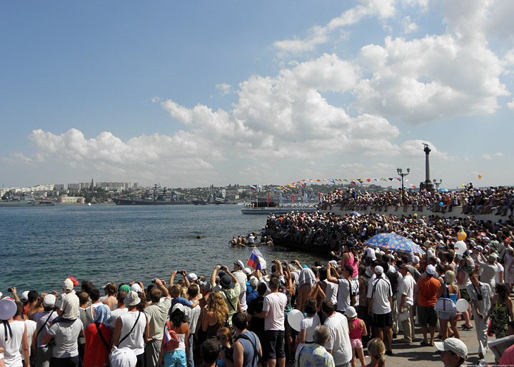 Celebration Of The Navy Day In Sevastopol