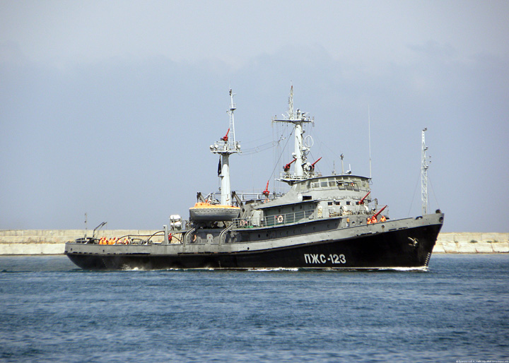 "Firefighting ship ""PZhS-123"""