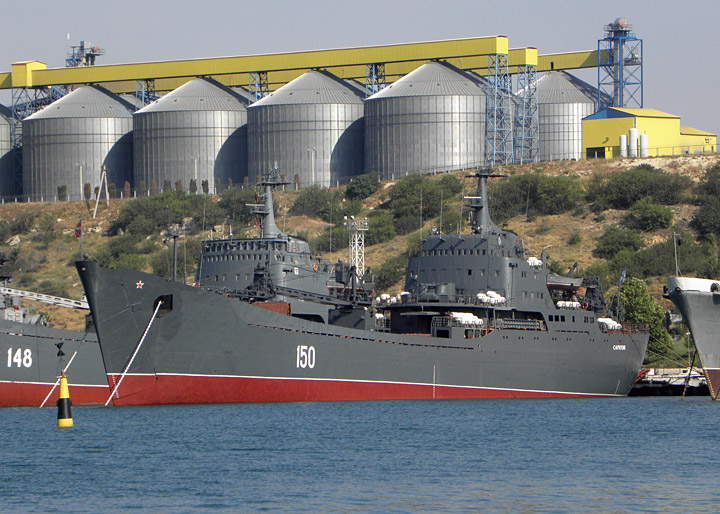 "Large Landing Ship ""Saratov"""