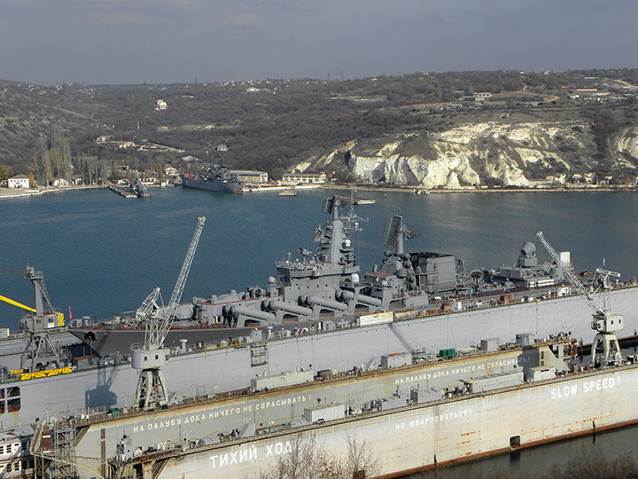 "Guided Missile Cruiser ""Moskva"" - Project 1164 / Slava class"