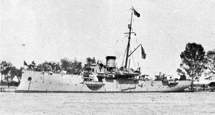 черноморские канонерские лодки