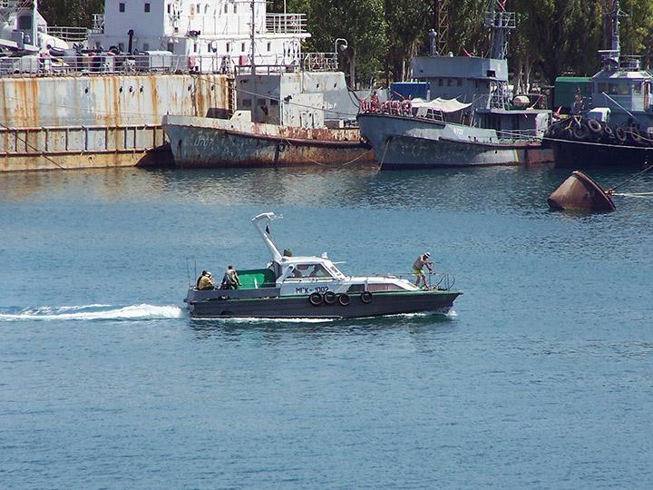 лодка мгк