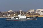 """Среден разузнавателен кораб на Черноморския флот """"Кильдин"""" (проект 861М)"""