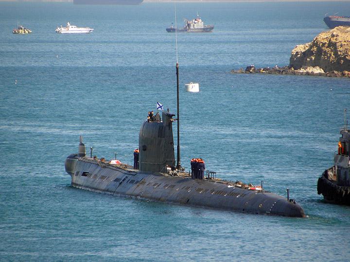 где в севастополе подводные лодки