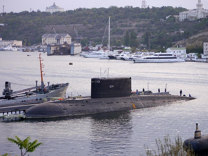 бухта подводных лодок