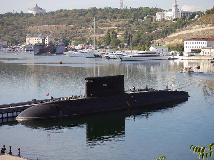 подводные лодки будут базироваться в новороссийске