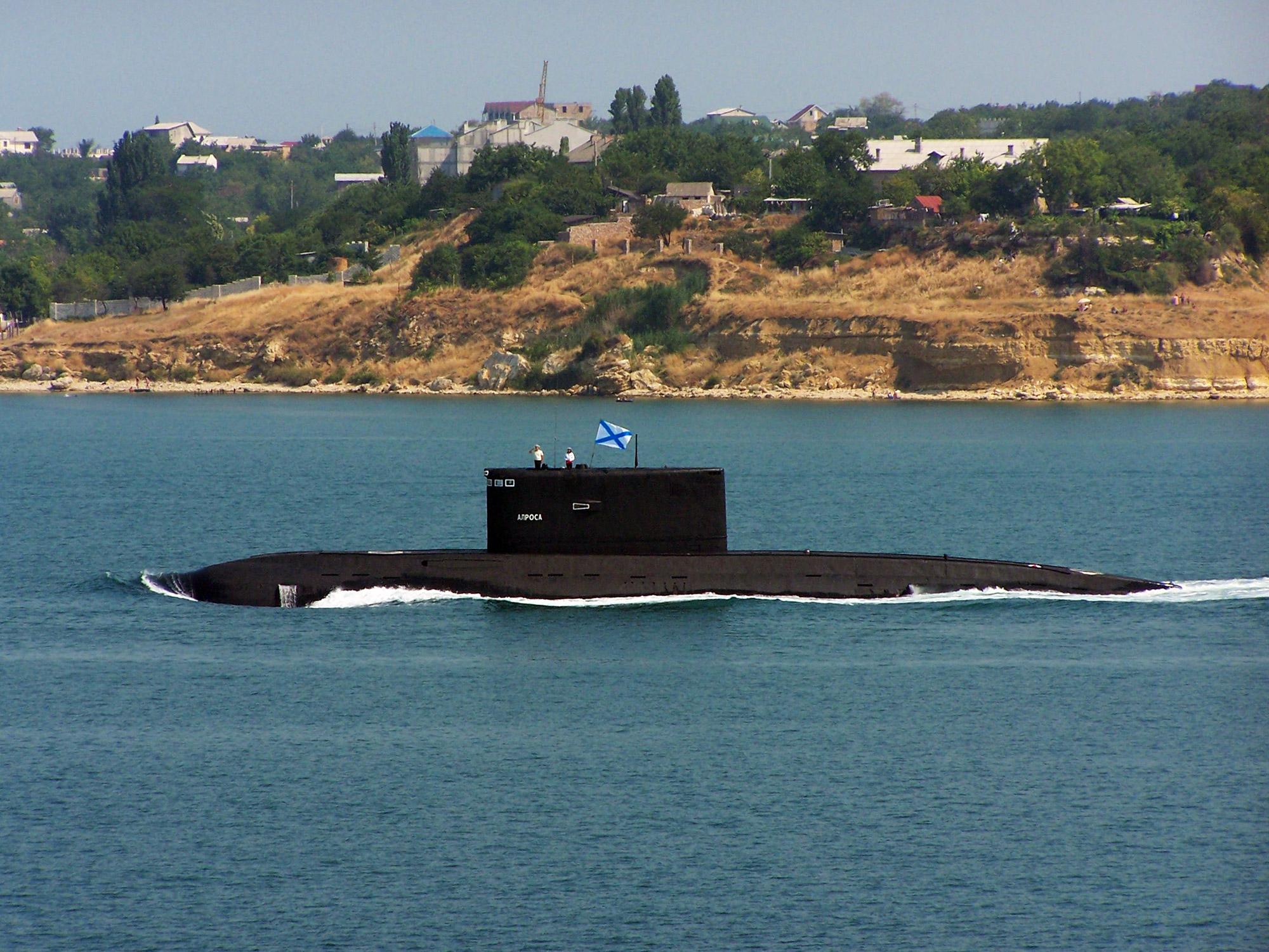 подводная лодка алроса в херсонесе фото что его поведение
