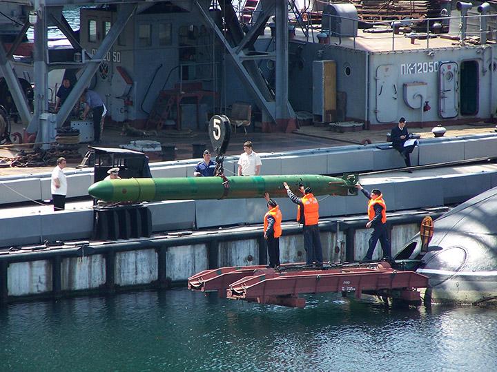 подводная лодка алроса черноморский флот