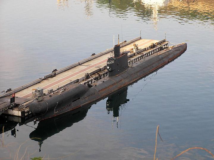 подводная лодка в териберке