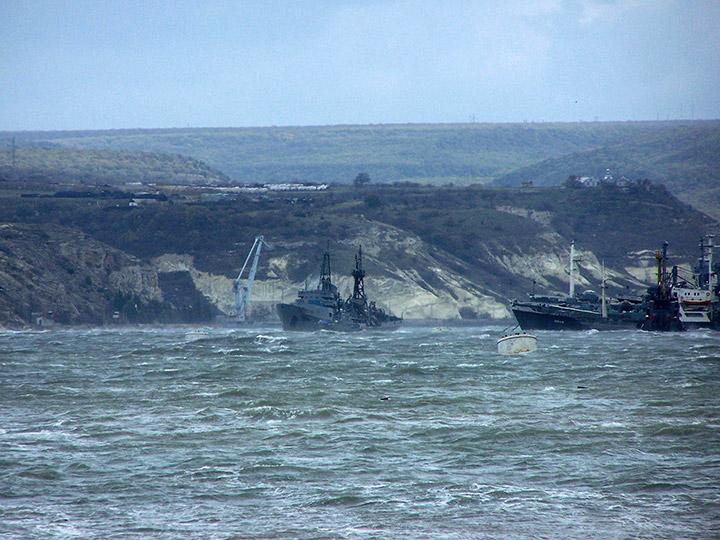 Эпрон черноморского флота во время